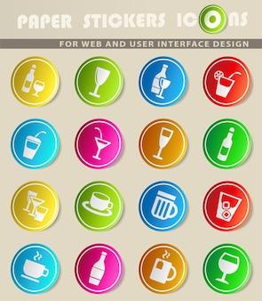 Brillen-websymbole für das design der benutzeroberfläche