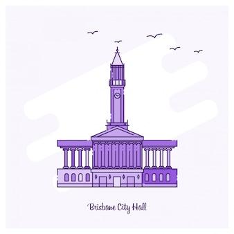 Brisbane city hall wahrzeichen
