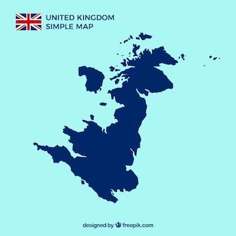 Britische karte