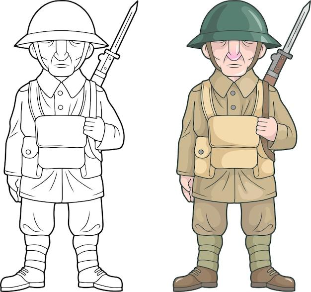 Britischer soldat, weltkrieg