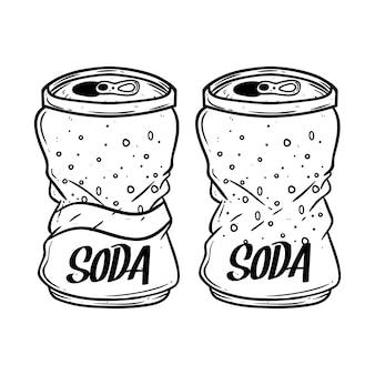 Broken soda dose