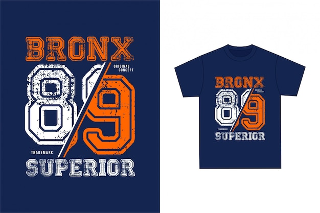 Bronx - grafisches t-shirt