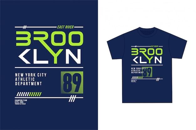 Brooklyn - grafisches t-shirt