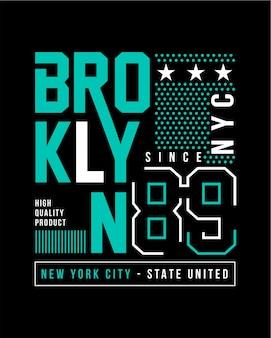 Brooklyn schriftzug