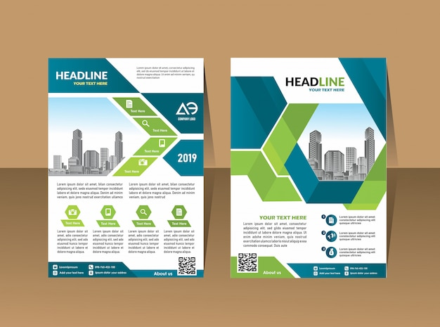 Broschüre flyer layout geschäftsbericht geschäftsbericht