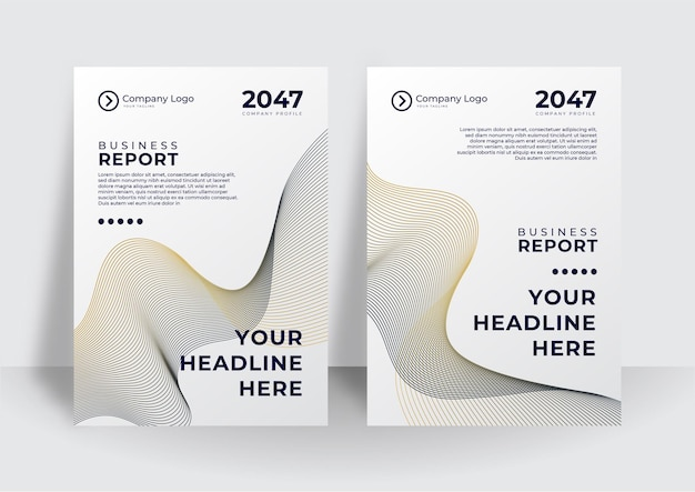 Broschüre, jahresbericht, flyer-design-vorlagen im a4-format. vektorgrafiken für business-präsentationen, geschäftspapiere, corporate document cover und layout-vorlagen-designs