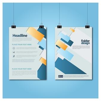 Broschüre vorlage design