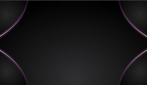 Broschüren-designhintergrund des abstrakten vektorgraphik purpurrot und schwarz. tendenzen 2018