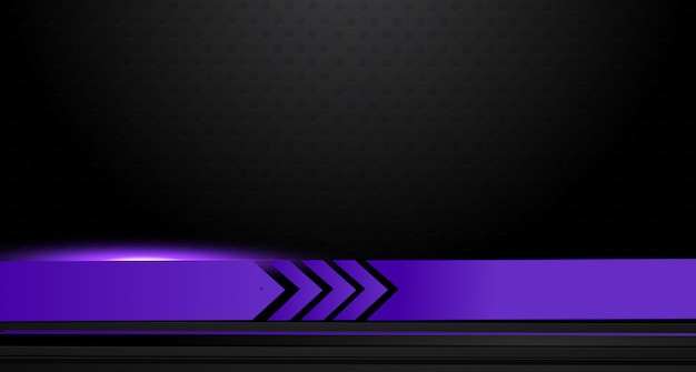 Broschüren-designhintergrund des abstrakten vektorgraphik purpurs und schwarzes. tendenzen 2018