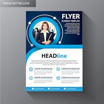 Broschürenvorlage layout