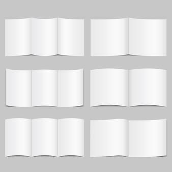 Broschürenvorlagen