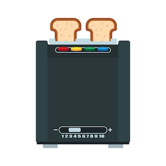 Brot toaster abbildung