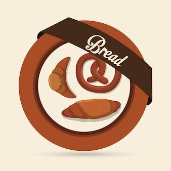 Brot und bäckerei design