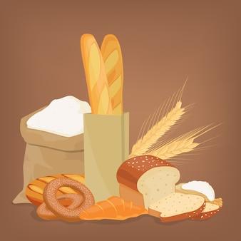 Brot und mehl