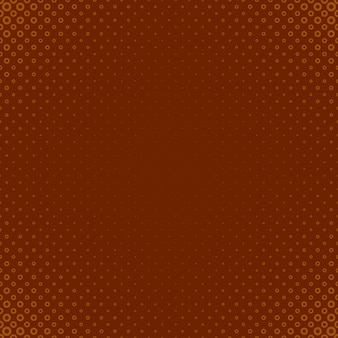 Brown-halbtonkreis-musterhintergrund