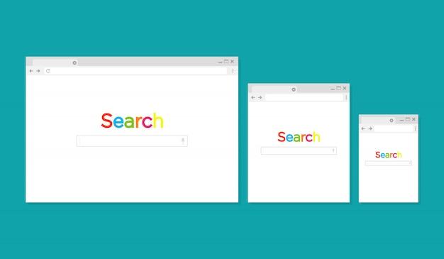 Browser-fenstersuche