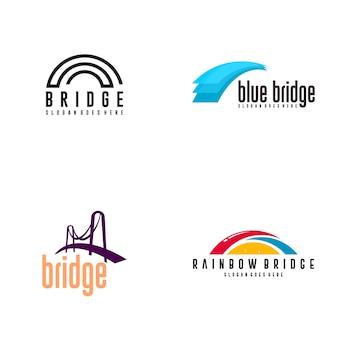 Brücke logo design
