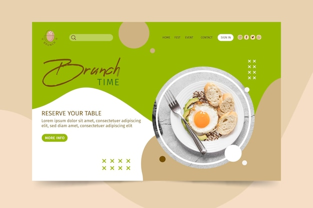 Brunch-landingpage