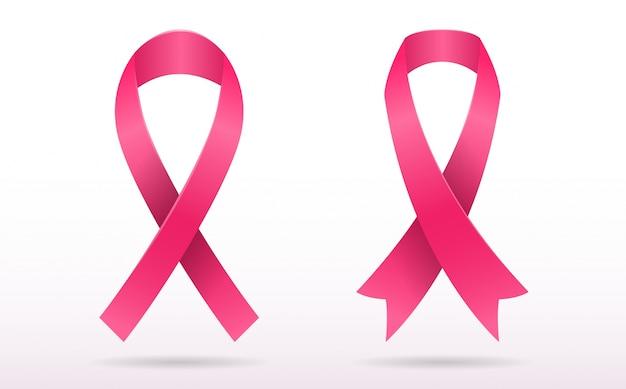 Brustkrebs bewusstsein vektor hintergrund