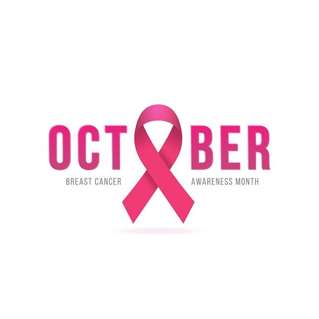 Brustkrebs-bewusstseins-kalligraphie-plakat-design.