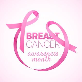 Brustkrebs-bewusstseinsfahne.