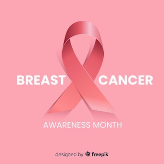 Brustkrebs-bewusstseinshintergrund