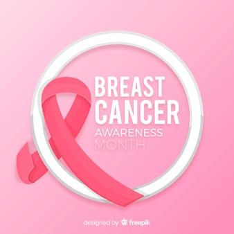 Brustkrebs-Bewusstseinsmonats-Rosahintergrund