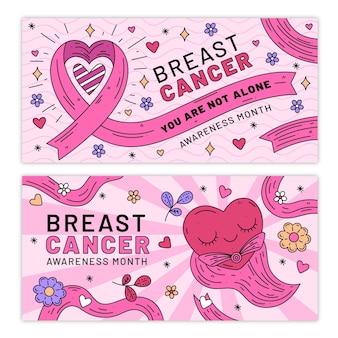 Brustkrebs-bewusstseinsmonatsbanner