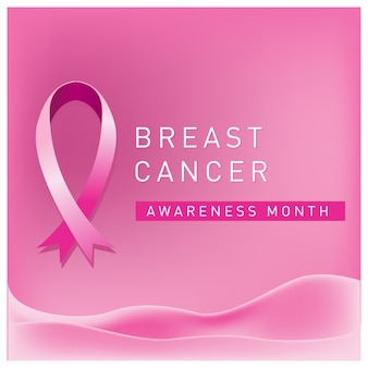 Brustkrebs-bewusstseinsmonatsplakat