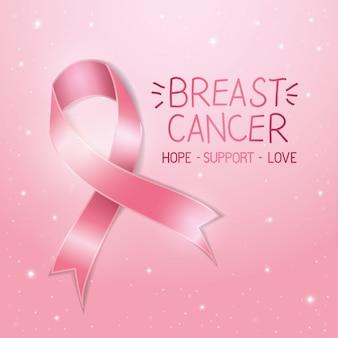 Brustkrebs-bewusstseinsplakat