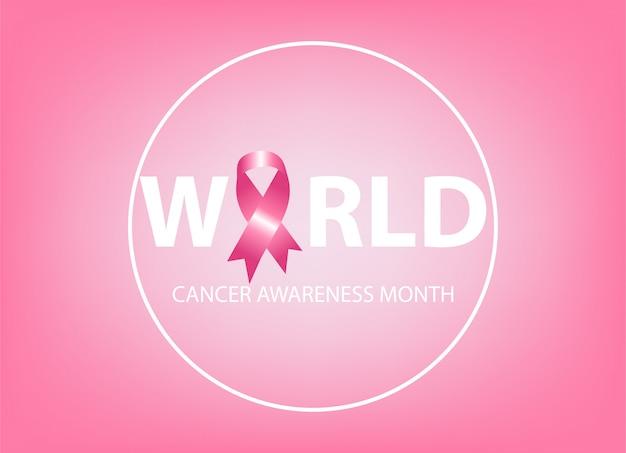 Brustkrebs-bewusstseinssymbol