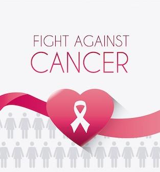Brustkrebs-design.