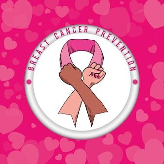 Brustkrebs-design
