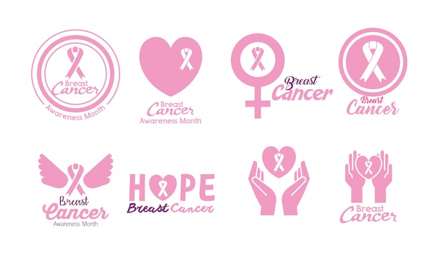 Brustkrebs gesetzt
