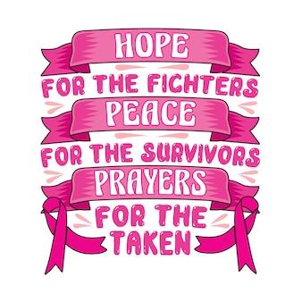 Brustkrebs-zitat