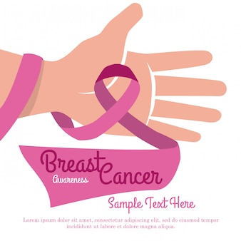 Brustkrebsentwurf