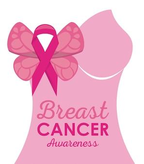 Brustkrebskampagne-Plakat