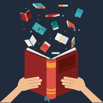 Buch geöffnet