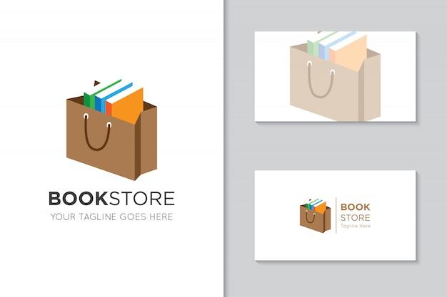 Buch-logo und symbol