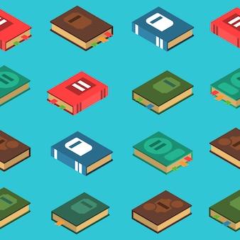 Buch seamless pattern