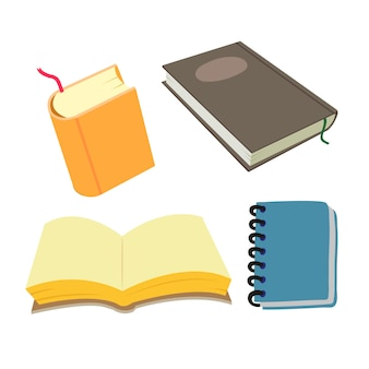 Buch-vektor-sammlung design