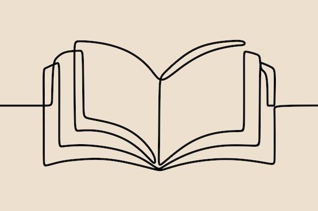 Buchen sie einzeilige fortlaufende strichzeichnungen