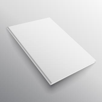Buchmodell im perspektivischen stil