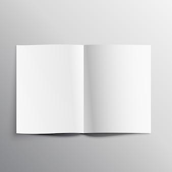 Buchseite mockup vorlage design