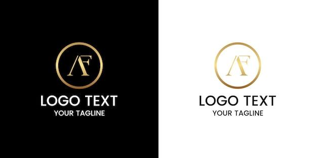 Buchstabe a logo design vektor
