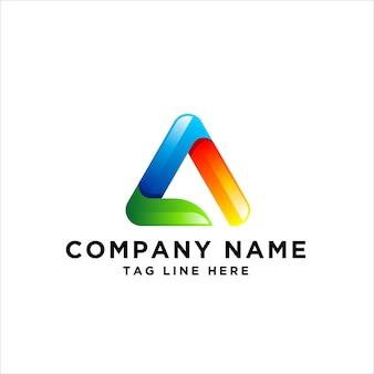 Buchstabe a logo design