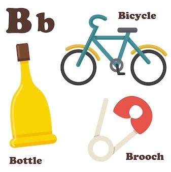 Buchstabe b von alphabet