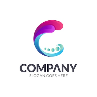 Buchstabe c logo design