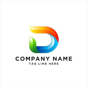 Buchstabe d logo design