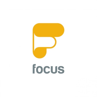 Buchstabe f logo symbol